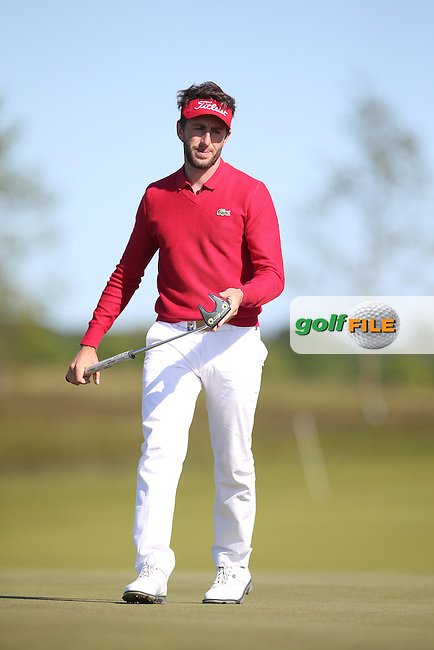 Edouard Espana (FRA) during Round Two of the 2015 Nordea Masters at the PGA Sweden National, Bara, Malmo, Sweden. 05/06/2015. Picture David Lloyd | www.golffile.ie
