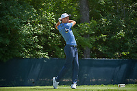 Ross Fisher (ENG) watches his tee shot on 9 during 3rd round of the 100th PGA Championship at Bellerive Country Club, St. Louis, Missouri. 8/11/2018.<br /> Picture: Golffile | Ken Murray<br /> <br /> All photo usage must carry mandatory copyright credit (&copy; Golffile | Ken Murray)