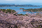 April 01, 2010: File photo showing Matsushima, Miyagi Prefecture, Japan taken in April 01, 2010. Matsushima was renowned for its natural beauty but  devasted by the massive magnitude 9.0 earthquake and subsequent tsunami that struck the eastern coast of Japan on Fraiday 11th March, 2011...