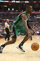 12/27/12 Los Angeles, CA: Boston Celtics power forward Jeff Green #8 during an NBA game between the Los Angeles Clippers and the Boston Celtics played at Staples Center. The Clippers defeated the Celtics 106-77 for their 15th straight win.