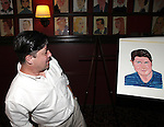 Michael McGrath .attending the unveiling of the Sardi's caricature for the Tony Award-winning star of 'Nice Work If You Can Get It', Michael McGrath on July 12, 2012 in New York City.