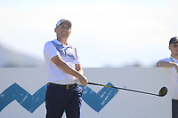 Cian McNamara (IRL) on the 11th tee during Round 2 of the Dubai Duty Free Irish Open at Ballyliffin Golf Club, Donegal on Friday 6th July 2018.<br /> Picture:  Thos Caffrey / Golffile