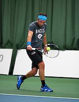 18-01-14,Netherlands, Rotterdam,  TC Victoria, Wildcard Tournament, ,Dennis Kockx (NED)<br /> Photo: Henk Koster