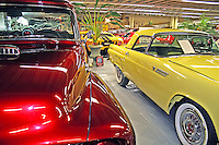 Vintage cars in Tallahassee Automobile Museum Florida