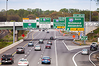 Route 66 Beltway 495 Tysons Merrifield Northern Virginia