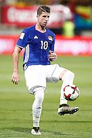 Liechtenstein's Sandro Wieser during FIFA World Cup 2018 Qualifying Round match. September 5,2016.(ALTERPHOTOS/Acero)