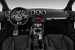 Straight dashboard view of a 2011 - 2014 Audi TT S line 3 Door Coupe 4WD