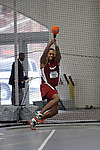 11 MAR 2011: Chinedum Umachi of Mass. Instit. of Tech. throws during the the Division III Men's and Women's Indoor Track and Field Championships held at the Capital Center Fieldhouse on the Capital University campus in Columbus, OH.  Jay LaPrete/NCAA Photos