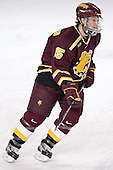 Zac Pearson - The Boston College Eagles and Ferris State Bulldogs tied at 3 in the opening game of the Denver Cup on Friday, December 30, 2005, at Magness Arena in Denver, Colorado.  Boston College won the shootout to determine which team would advance to the Final.