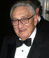 Henry Kissinger, 2003, Photo By John Barrett/PHOTOlink