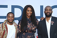 "31 July 2019 - Hollywood, California - Tasha Smith, Guests. Photo Call For Netflix's ""Otherhood"" held at The Egyptian Theatre. Photo Credit: FSadou/AdMedia"