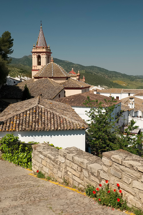 Quiet back lanes are the norm in the small hill town of Zahara de la Sierra.