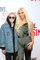"LOS ANGELES - MAR 13:  Nats Getty, Gigi Gorgeous, Giselle Loren Lazzarato at the ""Love, Simon"" Special Screening at Westfield Century City Mall Atrium on March 13, 2018 in Century City, CA"