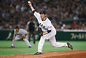 Yoshihisa Hirano (JPN), <br /> MARCH 15, 2017 - WBC : 2017 World Baseball Classic Second Round Pool E Game between Japan 8-3 Israel at Tokyo Dome in Tokyo, Japan. <br /> (Photo by Sho Tamura/AFLO SPORT)