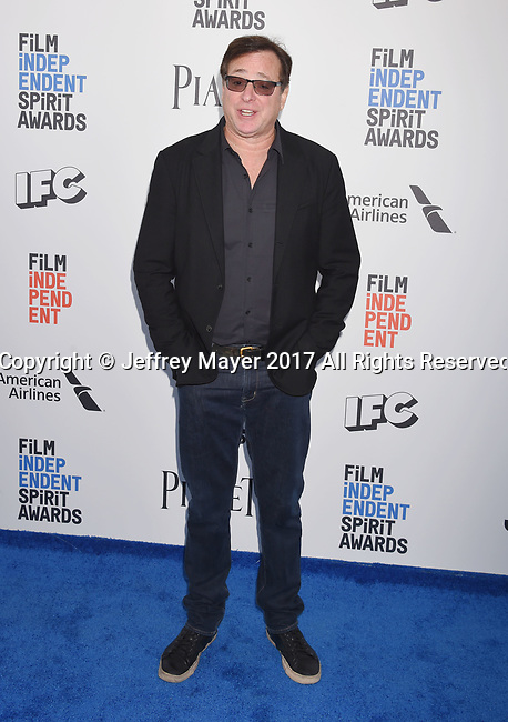 SANTA MONICA, CA - FEBRUARY 25: Actor/comedian Bob Sagat attends the 2017 Film Independent Spirit Awards at the Santa Monica Pier on February 25, 2017 in Santa Monica, California.