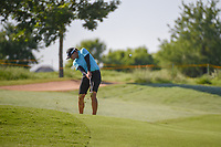 Katherine Kirk (AUS) hits her approach shot tight on 17 during round 2 of  the Volunteers of America LPGA Texas Classic, at the Old American Golf Club in The Colony, Texas, USA. 5/6/2018.<br /> Picture: Golffile | Ken Murray<br /> <br /> <br /> All photo usage must carry mandatory copyright credit (&copy; Golffile | Ken Murray)