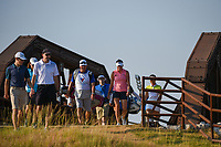 Gerina Piller (USA) makes her way across the bridge near the tee on 2 during the round 3 of the Volunteers of America Texas Classic, the Old American Golf Club, The Colony, Texas, USA. 10/5/2019.<br /> Picture: Golffile   Ken Murray<br /> <br /> <br /> All photo usage must carry mandatory copyright credit (© Golffile   Ken Murray)