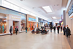 Yorkdale Shopping Centre interior, shopping mall in Toronto, Ontario, Canada 2014.