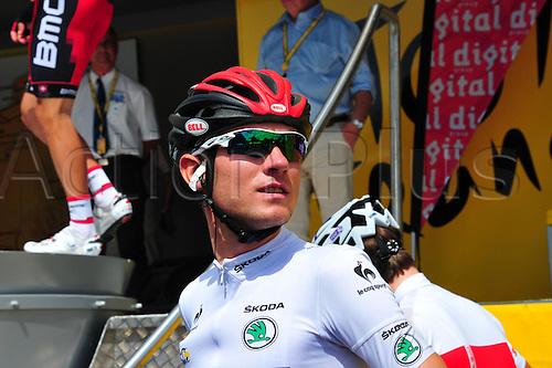 03.07.2012. Orchies, France.  Tour de France, Stage 3.  Orchies - Boulogne sur Mer, Bmc Racing 2012, Van Garderen Tejay, Orchies