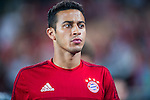 Thiago of Bayern Munich look on prior to the Bayern Munich vs Guangzhou Evergrande as part of the Bayern Munich Asian Tour 2015  at the Tianhe Sport Centre on 23 July 2015 in Guangzhou, China. Photo by Aitor Alcalde / Power Sport Images