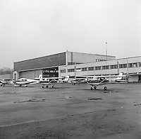 Royal Antwerp Aviation Club.  December 1968.  Luchthaven Deurne.