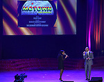 Valisia LeKae; Brandon Victor Dixon from 'Motown The Musical'  during the presentation of the 2013 Actors Fund Annual Gala honoring Robert De Niro at the Mariott Marquis Hotel in New York on 4/29/2013...