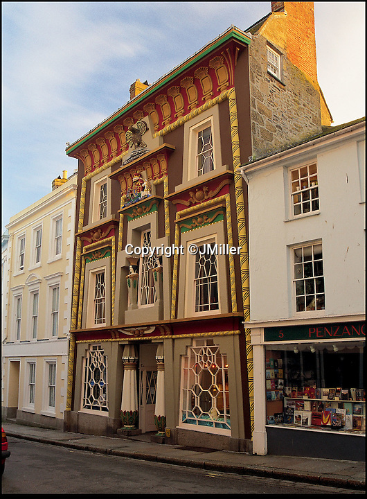 BNPS.co.uk (01202 558833)<br /> Pic: LandmarkTrust/BNPS<br /> <br /> Egyptian House, in, Cornwall. <br /> <br /> Fully booked...Holidays less ordinary spark a booking frenzy in Brits.<br /> <br /> A charity which rents out historic buildings around Britain is celebrating a boom in business that has seen some of its properties booked out years in advance.<br /> <br /> The Landmark Trust has transformed almost 200 of the country's quirkiest buildings - from medieval castles to Tudor towers and even a former pig sty - into unique holiday homes.<br /> <br /> And they have become so popular with Brits looking for unusual places to escape to that some buildings are fully booked until 2016.<br /> <br /> Top of the most popular properties are Luttrell's Tower, a Georgian folly near Southampton, Hants, and Astley Castle, a Saxon stronghold dating back to the 12th century in Nuneaton, Warks.<br /> <br /> Other favourites include a Victorian pigsty near Whitby, North Yorks, which was built in the style of a Greek temple, and the London townhouse of 20th century poet John Betjeman.<br /> <br /> The buildings have become such a hit among holidaymakers that they are willing to fork out thousands of pounds to stay in them.<br /> <br /> While prices start at 10 pounds a night for cosy cottages in winter, a seven-night stay at the most popular properties in the height of summer can cost up to 3,000 pounds.<br /> <br /> But the fees are then ploughed back into the upkeep and restoration of the properties.