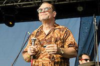 SÃO PAULO,SP, 18.06.2016 - SHOW-SP - Steve Guyguer, durante apresentação na segunda edição do Festival BB Seguridade de Blues e Jazz, no Parque Villa Lobos em São Paulo, neste sábado, 18. (Foto: Bete Marques/Brazil Photo Press)
