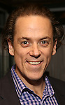 """Jeremy Secomb attends a press reception for the cast of The Tooting Arts Club production of """"Sweeney Todd''  at AOC L'aile ou la Cuisse on February 2, 2017 in New York City."""