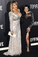 NEW YORK CITY, NY, USA - DECEMBER 03: Hayley Marie Norman, Karlie Redd arrive at the New York Premiere Of 'Top Five' held at the Ziegfeld Theatre on December 3, 2014 in New York City, New York, United States. (Photo by Celebrity Monitor)