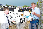 COUNTY: Mark and Tom Lynch, Ballingarry, Limerick pictured during the Kingdom County Fair at Ballybeggan on Sunday.   Copyright Kerry's Eye 2008
