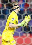 Bayer 04 Leverkusen's Bernd Leno during Champions League 2016/2017 Round of 16 2nd leg match. March 15,2017. (ALTERPHOTOS/Acero)