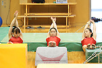 (L to R) Rie Tanaka, Koko Tsurumi, Natsumi Sasada (JPN), .June 21, 2012 - Artistic Gymnastics : .Women's Japan National Team Training Camp .at Ajinomoto National Training Center, Tokyo, Japan. .(Photo by Daiju Kitamura/AFLO SPORT) [1045]