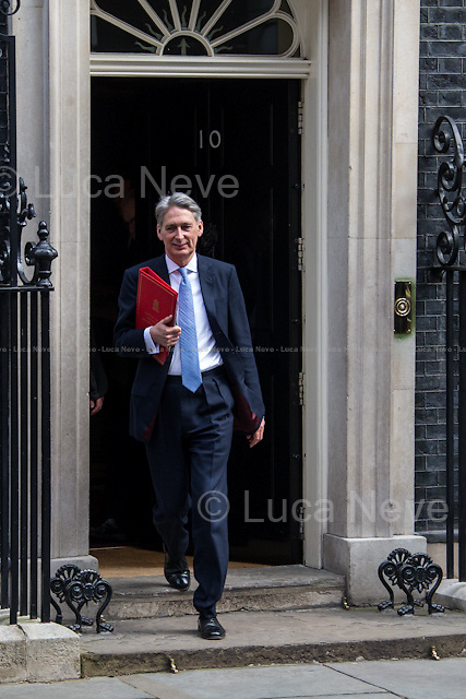 Philip Hammond MP (Secretary of State for Foreign and Commonwealth Affairs).<br />