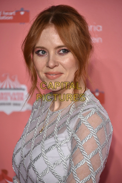 Angela Scanlon<br /> arrivals at London's Fabulous Fund Fair 2016 in aid of the Naked Heart Foundation at Old Billingsgate Market on 20th February 2016.<br /> CAP/PL<br /> &copy;Phil Loftus/Capital Pictures