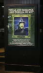 Lindsay Mendez Theatre Marquee  during the 10th Anniversary on Broadway Curtain Call for 'Wicked'  at the Gershwin Theatre on October 30, 2013  in New York City.