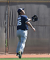 Hideo Nomo (Padres),<br /> MARCH 2, 2016 - MLB :<br /> San Diego Padres baseball operations advisor Hideo Nomo during the team's spring training baseball camp in Peoria, Arizona, United States. (Photo by AFLO)
