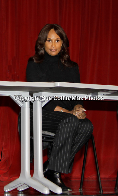 Super model Beverly Johnson is a panelist at Color of Beauty recognizes stylish people of color with a one-day event featuring topical panel discussions followed later tonght with a red carpet awards ceremony. The event was on February 4, 2014 at New York University, New York City, NY. (Photo by Sue Coflin/Max Photos)