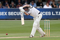 Harry Brook hits 4 runs for Yorkshire during Essex CCC vs Yorkshire CCC, Specsavers County Championship Division 1 Cricket at The Cloudfm County Ground on 7th July 2019