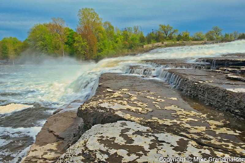 Trent River at cascading Healey Falls<br />Healey Falls <br />Ontario<br />Canada