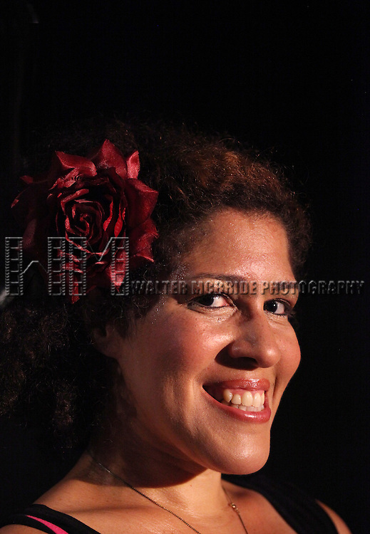 Portrait of Rain Pryor during a  rehearsal of her show  'Fried Chicken and Latkes'  on 7/19/2012 at The Actors Temple Theatre in New York City. ***EXCLUSIVE***