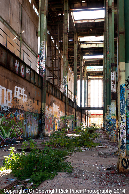 Abandoned Power Station 05 - The abandoned South Fremantle Power Station, North Coogee, Perth, Western Australia.