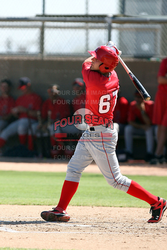 Kaleb Cowart - Los Angeles Angels - 2010 Instructional League.Photo by:  Bill Mitchell/Four Seam Images..