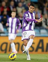 Real Valladolid's Carlos Gonzalez Pena during La Liga match.November 18,2012. (ALTERPHOTOS/Acero)
