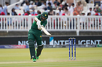 Imam-ul-Haq (Pakistan) lofts over extra cover for four runs during Pakistan vs Bangladesh, ICC World Cup Cricket at Lord's Cricket Ground on 5th July 2019