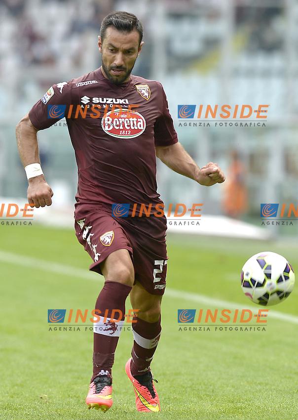Fabio Quagliarella Torino,<br /> Torino 28-09-2014, Stadio Olimpico, Football Calcio 2014/2015 Serie A, Torino-Fiorentina, Foto Filippo Alfero/Insidefoto
