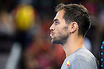 Spain's basketball player Jose Manuel Calderon during the  match of the preparation for the Rio Olympic Game at Madrid Arena. July 23, 2016. (ALTERPHOTOS/BorjaB.Hojas)