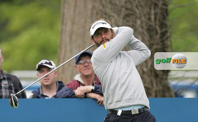 Joost Luiten (NED) during Wednesday's Pro-Am ahead of the 2016 Dubai Duty Free Irish Open Hosted by The Rory Foundation which is played at the K Club Golf Resort, Straffan, Co. Kildare, Ireland. 18/05/2016. Picture Golffile   TJ Caffrey.<br /> <br /> All photo usage must display a mandatory copyright credit as: &copy; Golffile   TJ Caffrey.