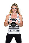 Fitness trainer Shana Verstegen is pictured in a studio portrait in Madison, Wis., on Aug. 21, 2016. (Photo by Jeff Miller, www.jeffmillerphotography.com)