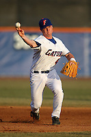 March 9, 2010:  Second Baseman Nolan Fontana (4) of the Florida Gators during a game at McKethan Stadium in Gainesville, FL.  Photo By Mike Janes/Four Seam Images